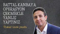 Battal Kanbay'a Kim Operasyon Çekiyor ? Malatyalılar Milli Eğitim İl Müdürü Etrafında Kenetlendi