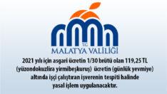 """Kayısı Hasat döneminde ilimize gelen """"Mevsimlik Tarım İşçilerinin"""" gündelik ücretleri 119,25 TL 'nin altında işçi çalıştıranlar"""