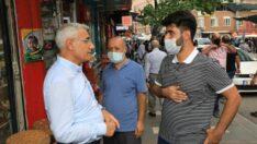 Battalgazi Belediye Başkanı Osman Güder, Akpınar Mahallesi esnaflarını ziyaret ederek, sorun ve talepleri yerinde dinledi