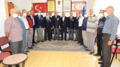 Battalgazi Belediye Başkanı Osman Güder, Gazilerle bir araya geldi