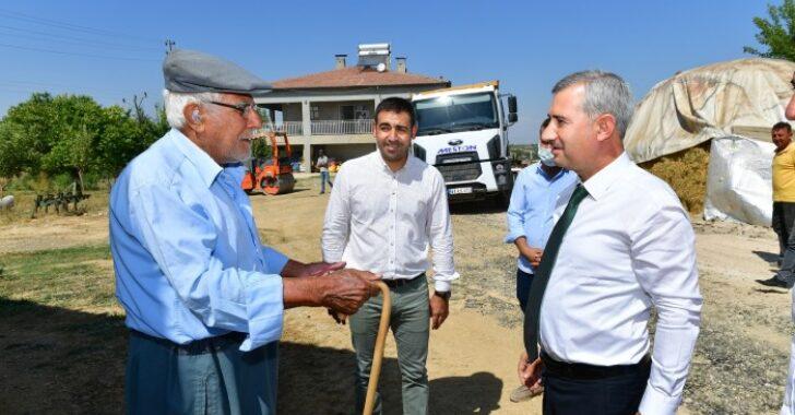 Battalgazi Belediye Başkanı Osman Güder, ESKKK Başkanı Ali Evren'i ziyaret etti.